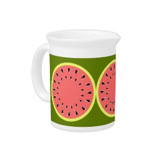 De Roze waterkruik van de watermeloen Drank Pitcher