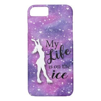 De Roze Waterverf van het Hoesje van Iphone van de