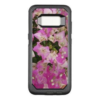 De roze Witte Bloem van Bougainvillea OtterBox Commuter Samsung Galaxy S8 Hoesje