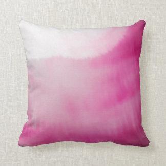 De roze & Witte Vloeibare Moderne Waterverven van Sierkussen