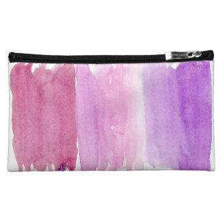 De roze Zak van de Make-up van de Waterverf Cosmetic Tasje
