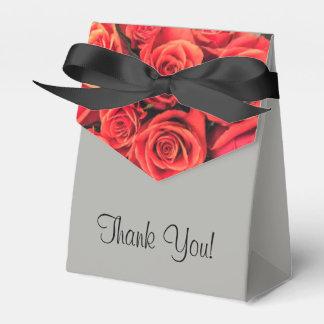 De rozen danken u de Doos van de Gunst van de Tent Bedankdoosjes