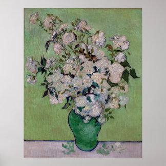 De Rozen van Vincent van Gogh Poster