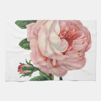 De rozen zijn Roze Theedoek