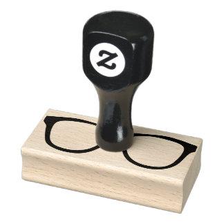 De rubber Zegel van het Oogglas met Handvat Rubberstempel