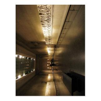 De ruimte die het Marmer Elgin in Briti bevat Briefkaart