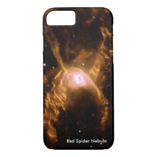 De ruimte is de plaats:  De rode Nevel van de Spin iPhone 8/7 Hoesje