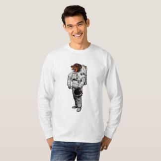 De ruimte Lange T-shirt van het Sleeve Beauceron