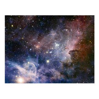 De ruimte Spectaculaire Astronomie van de Nevel Briefkaart