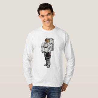 De ruimte T-shirt van het Sleeve van de Muis Lange
