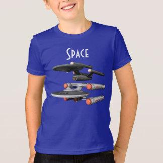 De ruimte T-shirt van Star Trek