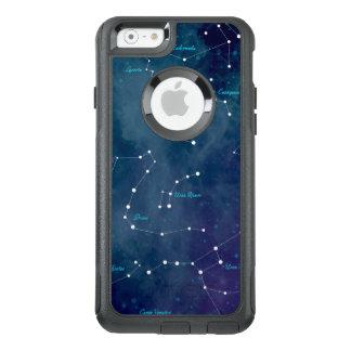De Ruimte van de Astronomie van de Kaart van de OtterBox iPhone 6/6s Hoesje