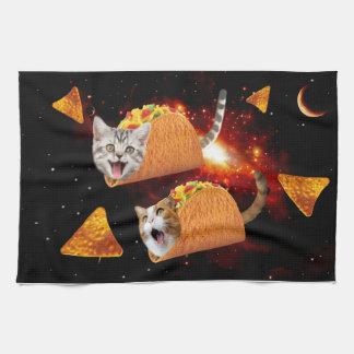 De Ruimte van de Katten van de taco Theedoek