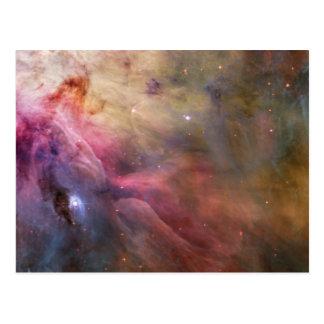 De Ruimte van Hubble van de Nevel van Orion Briefkaart