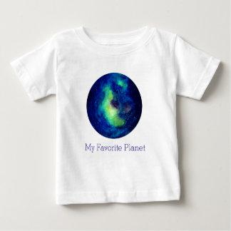 De ruimte Witte T-shirt van Jersey van het Baby