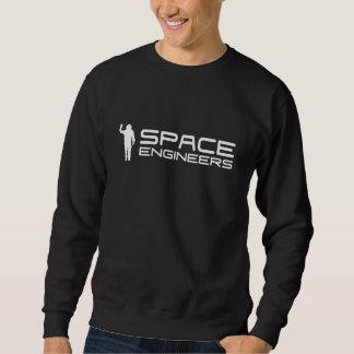 De ruimte Zwarte van het Sweatshirt van Ingenieurs