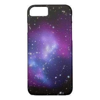 De RuimteFoto van de paarse Cluster van de Melkweg iPhone 8/7 Hoesje