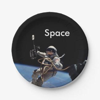 De RuimteGang van de astronaut Papieren Bordje