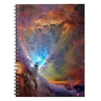 De RuimteMelkweg van de Nevel van Orion Ringband Notitie Boek