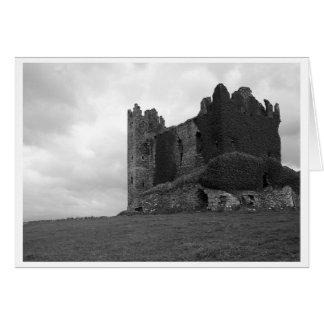 De Ruïnes van het kasteel in Provincie Kerry Briefkaarten 0