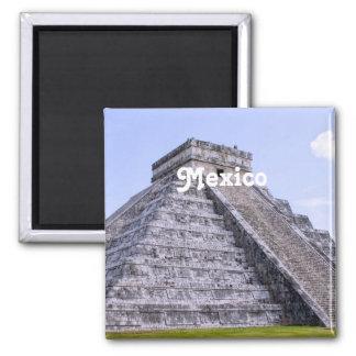 De Ruïnes van Mexico Koelkast Magneetje