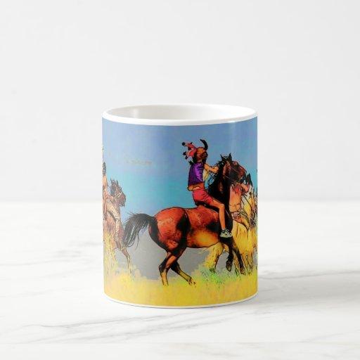 De Ruiters van Montana overvallen Koffie Beker