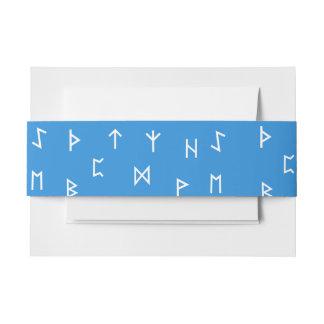 De Runen van Viking Uitnodigingen Wikkel