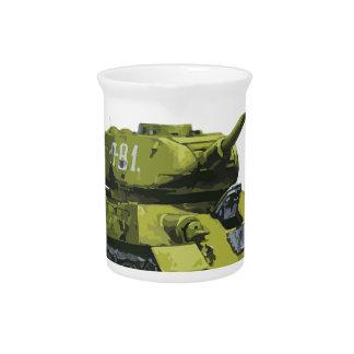De Russische Tank van Apg van de tank Pitcher