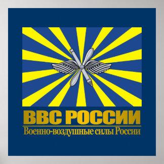 """De """"Russische Vlag van de Luchtmacht """" Poster"""