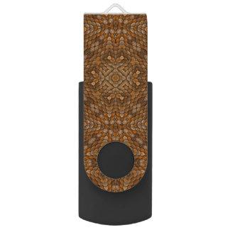 De rustieke Aandrijving van de Flits van Kaleidos USB Stick