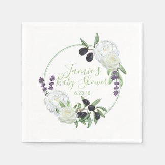 De rustieke BloemenSalie van de Gardenia van het Papieren Servetten
