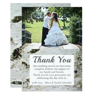 De rustieke Foto van het Huwelijk van de Kaart