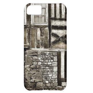 De rustieke Oude Bouw van het Hout en van de Steen iPhone 5C Hoesje