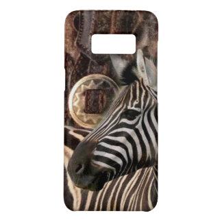 de rustieke Primitieve safari dierlijk zebra van Case-Mate Samsung Galaxy S8 Hoesje