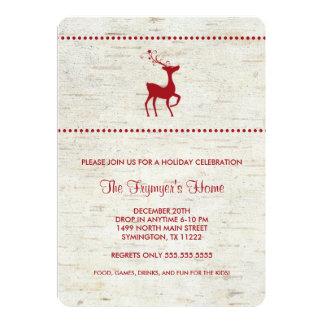 Personaliseer uitnodingen voor je kerstdiner, kerstborrel of kerstfeest met eigen foto en tekst.