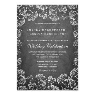 De rustieke Uitnodigingen van het Huwelijk van de