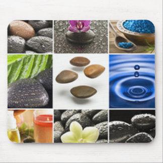 De rustige Collage van de Meditatie Muismatten