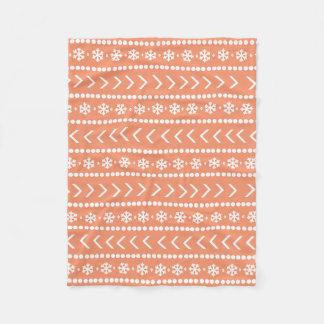 De ruwe deken van de Sneeuw - sinaasappel