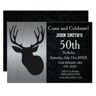 De ruwe Volwassen Uitnodigingen van de Verjaardag