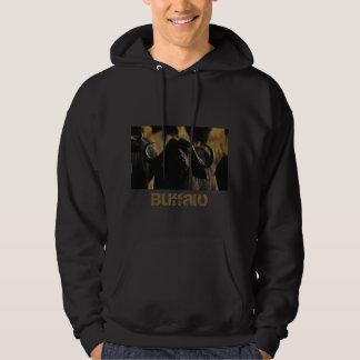 De safaritrui van buffels hoodie