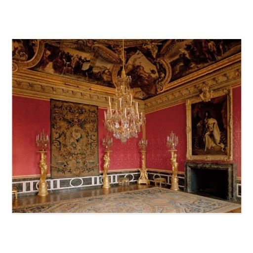 De salon d 39 apollon de zaal van apollo met wens kaart for Salon d apollon