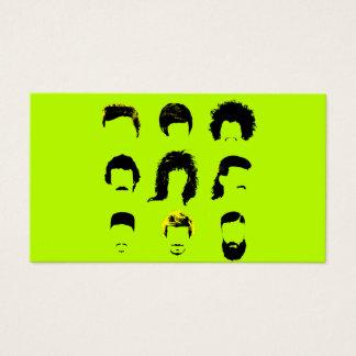 De Salon van het Haar van de kapper - Diverse Visitekaartjes