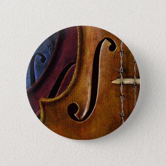 De Samenstelling van de viool Ronde Button 5,7 Cm