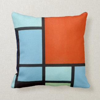 De Samenstelling van Piet Mondrian Sierkussen