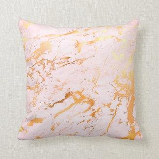 De samenvatting nam Gouden Roze Marmeren Sierkussen