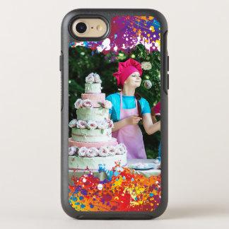 De Samenvatting van de Plons van de regenboog OtterBox Symmetry iPhone 8/7 Hoesje