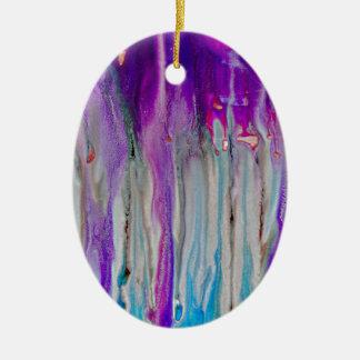 De Samenvatting van de waterval Keramisch Ovaal Ornament