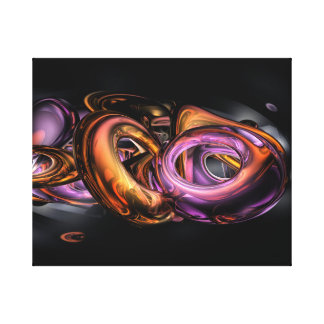 De Samenvatting van Graffiti Stretched Canvas Prints