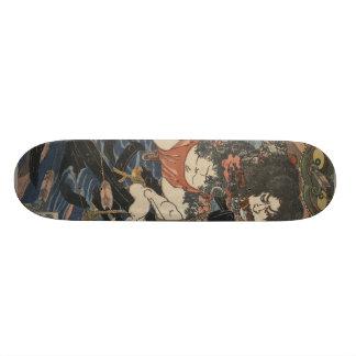 De Samoeraien van het tattoo Skateboard Deck
