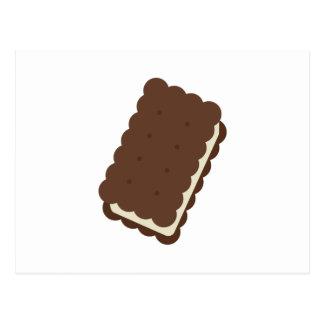 De Sandwich van het roomijs Briefkaart